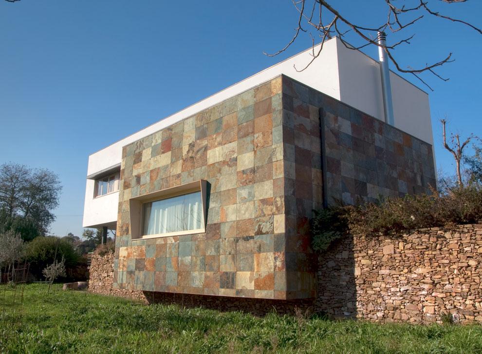 Decoracional piedra revestimientos naturales e imitaciones - Piedra para exteriores casas ...
