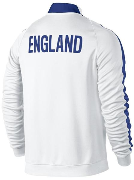2014-15 England Nike Authentic N98 Jacket (White)