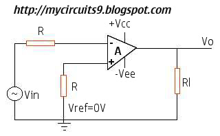 zero crossing detector circuit using op amp 741