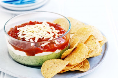 Christmas layer dip recipe