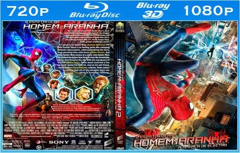 Baixar O Espetacular Homem Aranha 2 2014 Bluray 720p e 1080p 3D Dual Áudio