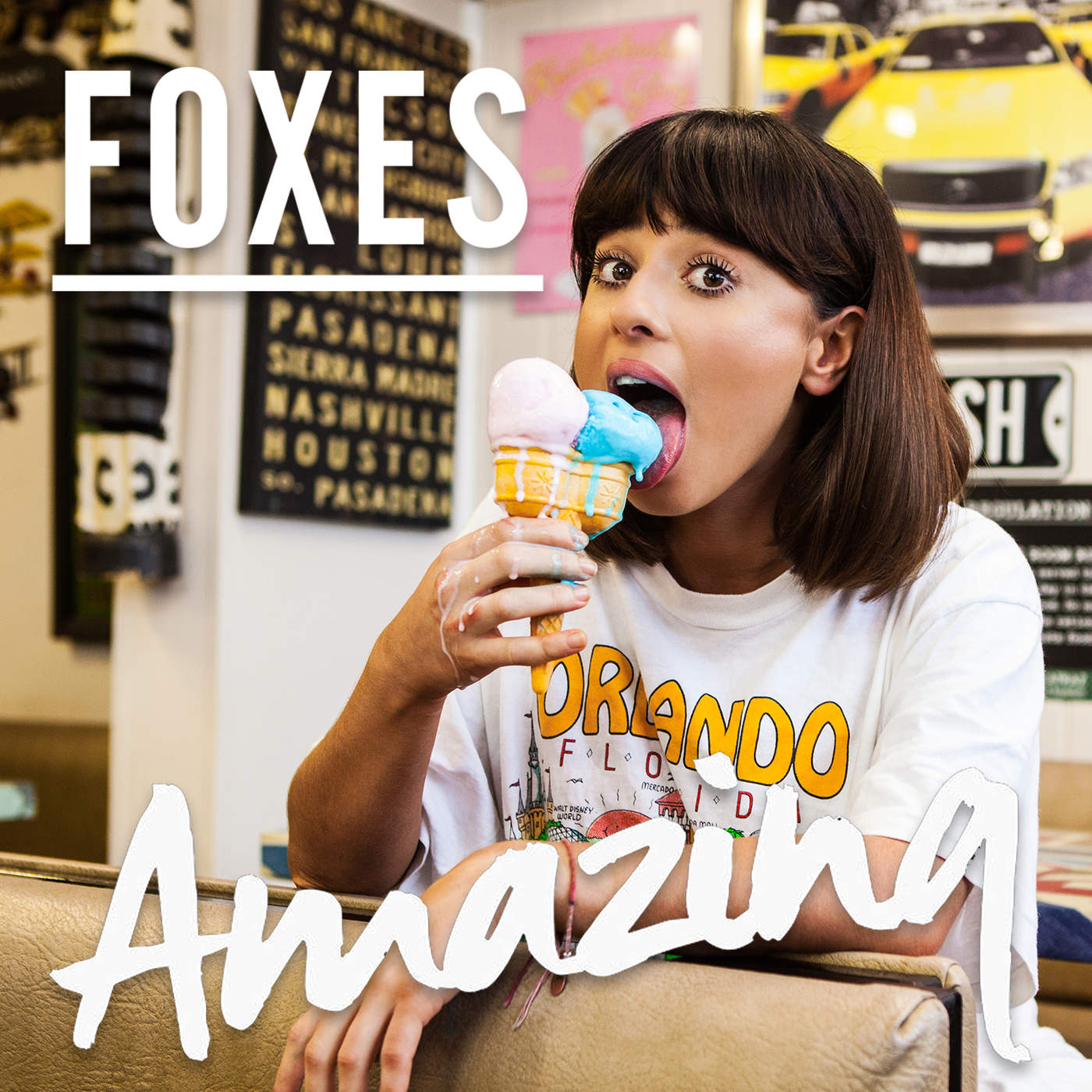 Foxes - Amazing - Single Cover