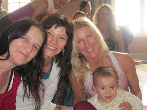 Power Shaktis: Shiva Rea, Me, my Mama and Zoe! 8-10.07.2012 Tegersee
