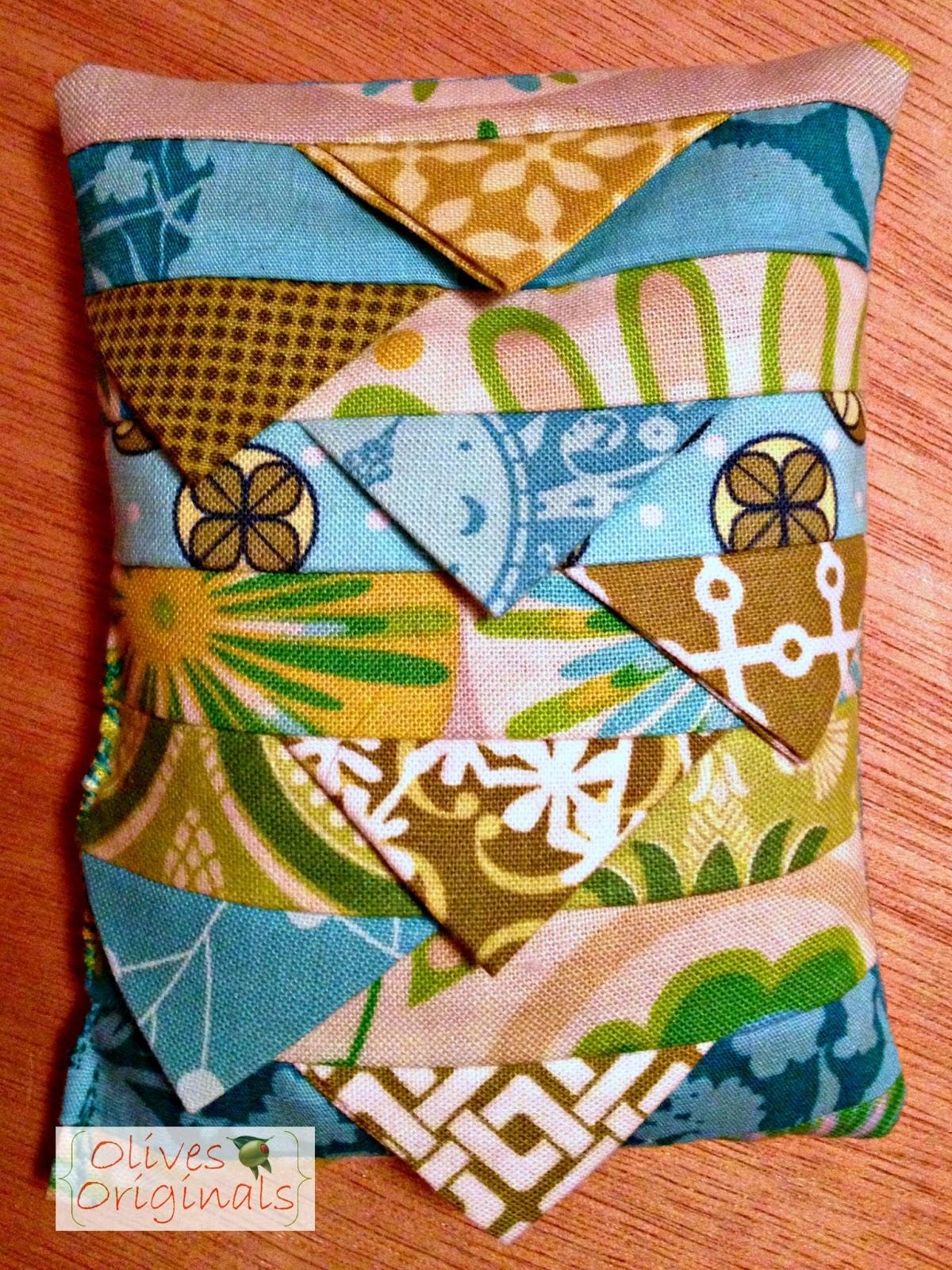 Quilt Guild Exchange Ideas : Olives Originals: Modern Quilt Guild Pin Cushion Exchange