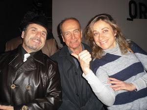 Con Ricardo Fernandez y Luisa Gómez