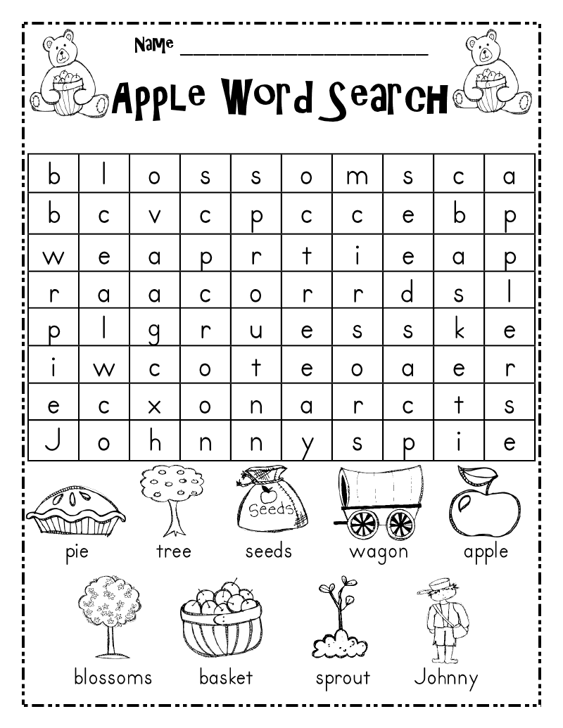 fun word searches