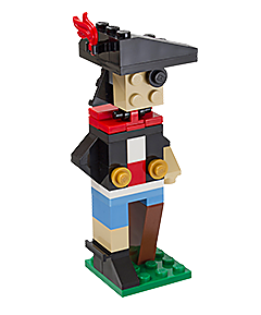 Free Lego Store Mini Model Build: LEGO Pirate