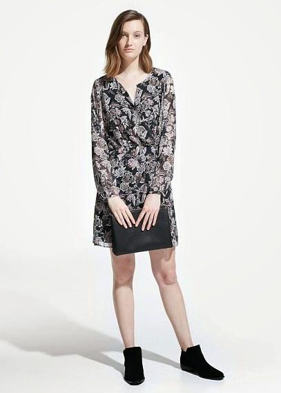 Mango 2015 Elbise Modelleri  desenli elbise modeli, kısa elbise, yazlık elbise,