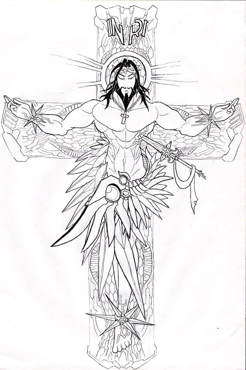 Lattest new jesus christ tattoos and cross