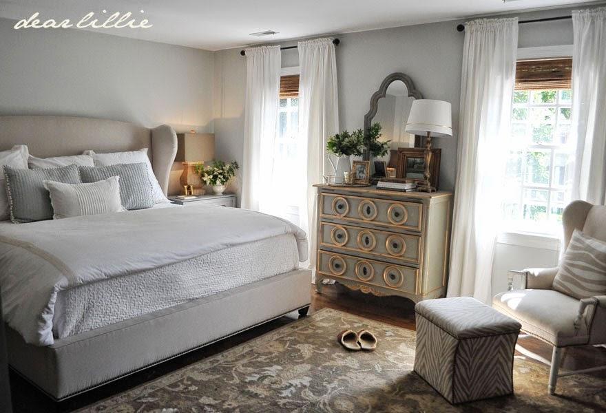 dear lillie our almost finished master bedroom with. Black Bedroom Furniture Sets. Home Design Ideas