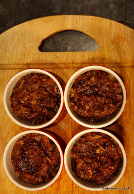 thehomefoodcook - shepherd's pie - in ramekin dishes