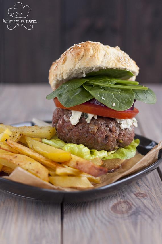 hamburger, przepis, przepisy, hamburger domowy, wołowy, z wołowiny, beef burger, burger wołowy, domowy fast food,