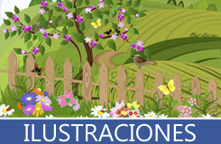 Ilustraciones, vectores y dibujos vectoriales realizados en Adobe Ilustrator y Corel Draw en diversas formas y colores