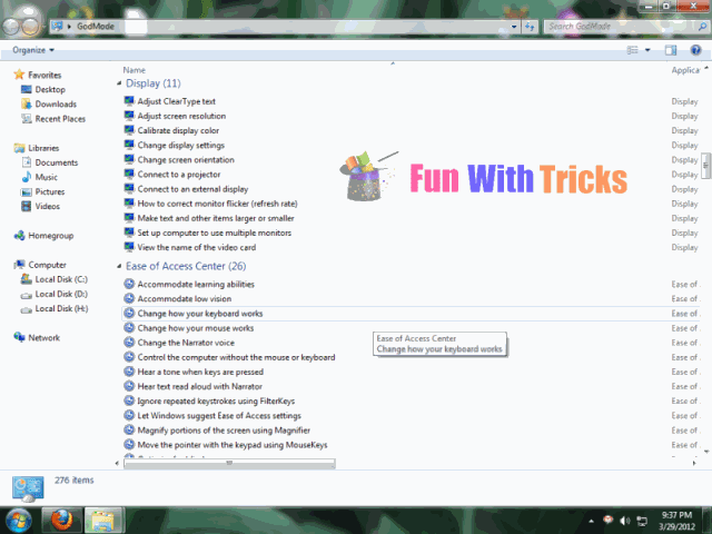 Enable God mode in Windows 7 and 8_FunWidTricks.Com
