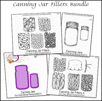 Stamps - Our Daily Bread Designs Canning Jar Fillers Bundle
