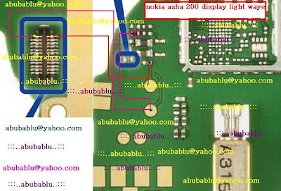 nokia asha 200 display light solution