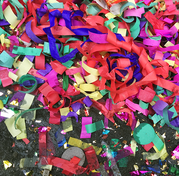 Chinese New Year Confetti