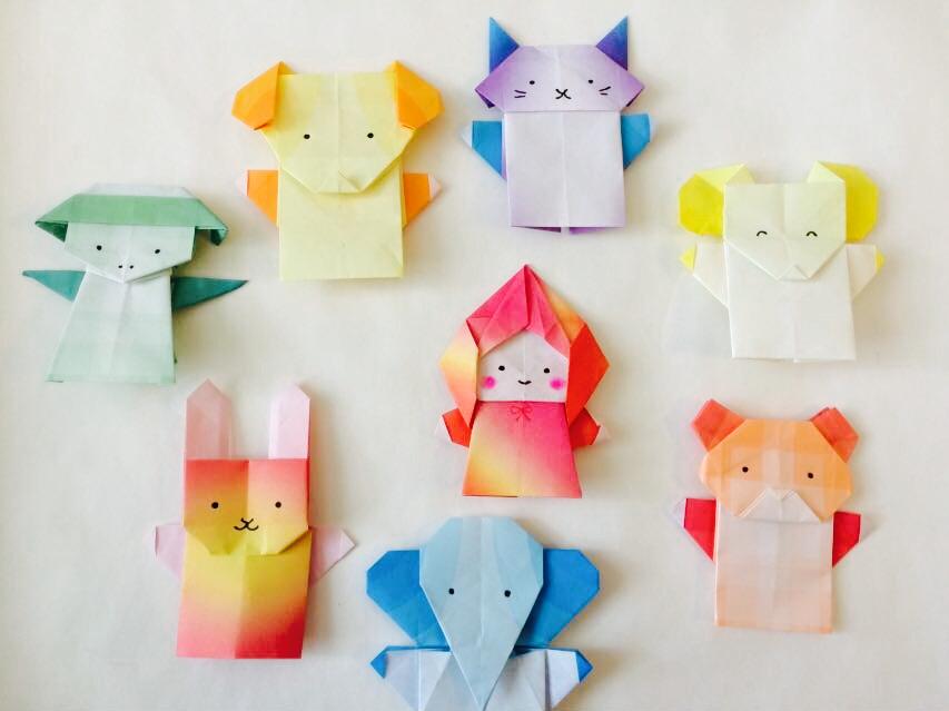 創作折り紙 kamikey : 折り紙一枚 ... : 折り紙で星の折り方 : すべての折り紙
