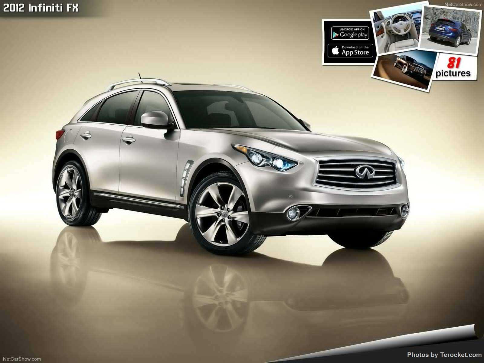 Hình ảnh xe ô tô Infiniti FX 2012 & nội ngoại thất