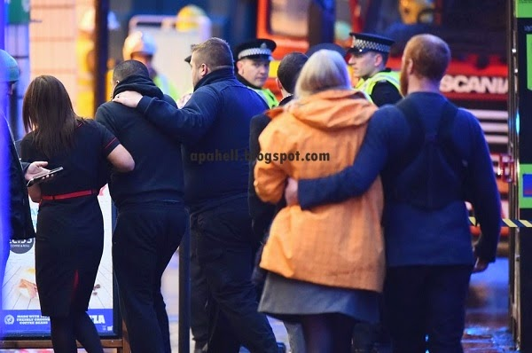 Lori Sampah Langgar Mati 6 Orang Saat Sedang Membeli Belah di Glasgow (5 Gambar)