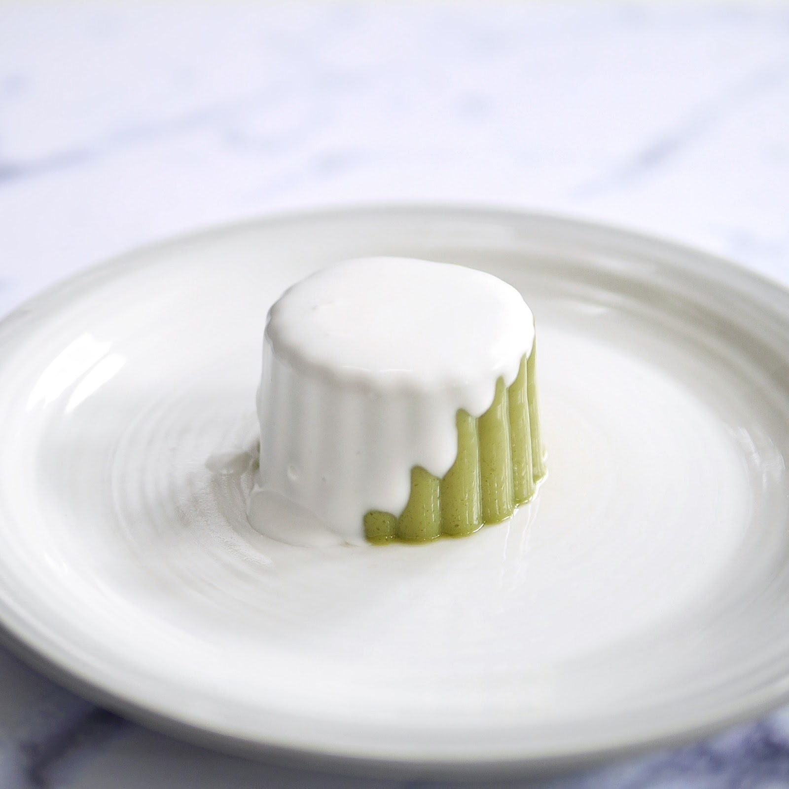 Resep silky matcha green tea pudding with coconut sauce recipe the most important thing is the agar and jelly powder measurement do not put too much because it will make it firmer anyway here are things youll need forumfinder Gallery