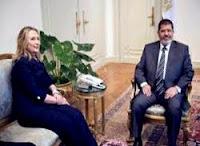مصر الثورة تركع تحت حذاء هيلاري!! .. ونتنياهو : شكراً يا مرسي!