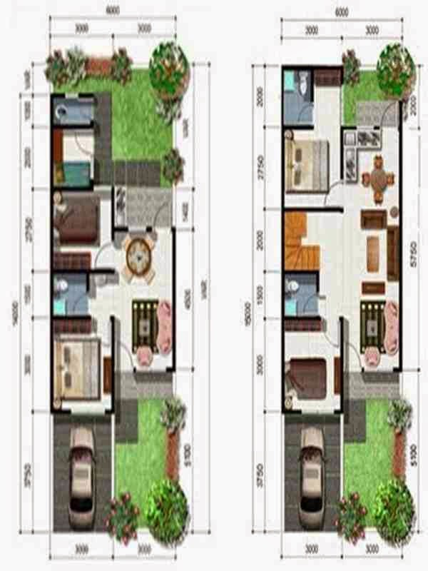 Desain Rumah Lantai 3 Minimalis