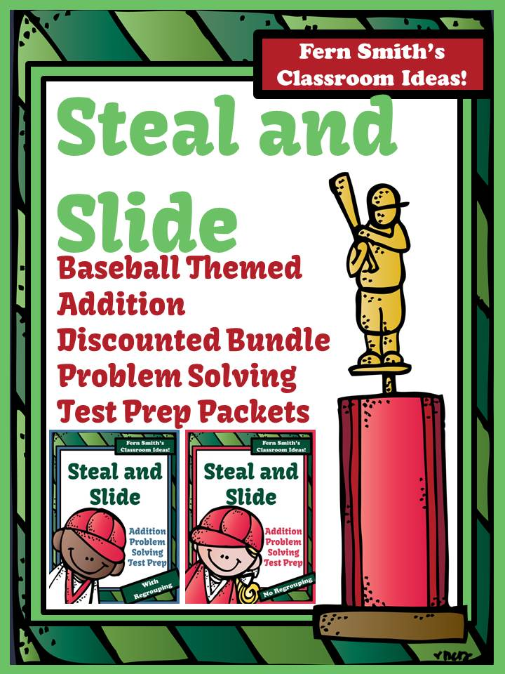 Fern Smith's Test Prep Discounted Bundle of Baseball's Steal and Slide Method - Addition