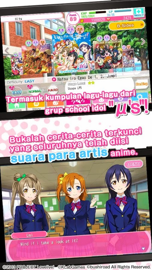 Citaten School Terbaru : Download school idol festival terbaru games dan