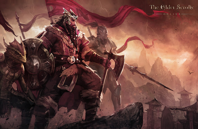 the elder scrolls Nord King Jorunn wallpaper