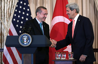 Politicians, Turkey, Politics, US, Secretary, State, John Kerry, Prime Minister, Recep Tayyip Erdogan, Department,