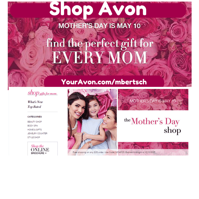 Avon Mother's Day Brochure