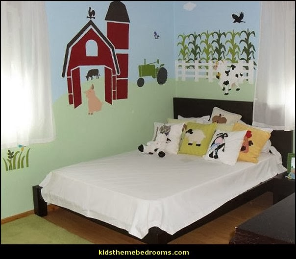 Modern House Plans Farm Theme Bedroom Decorating Ideas Horse Delectable Tractor Themed Bedroom Minimalist