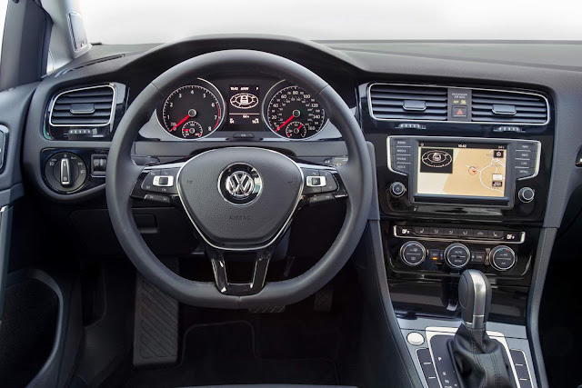 Novo VW Golf 2016 - interior