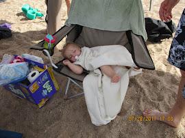 Tuckered Out Baby Ashlyn