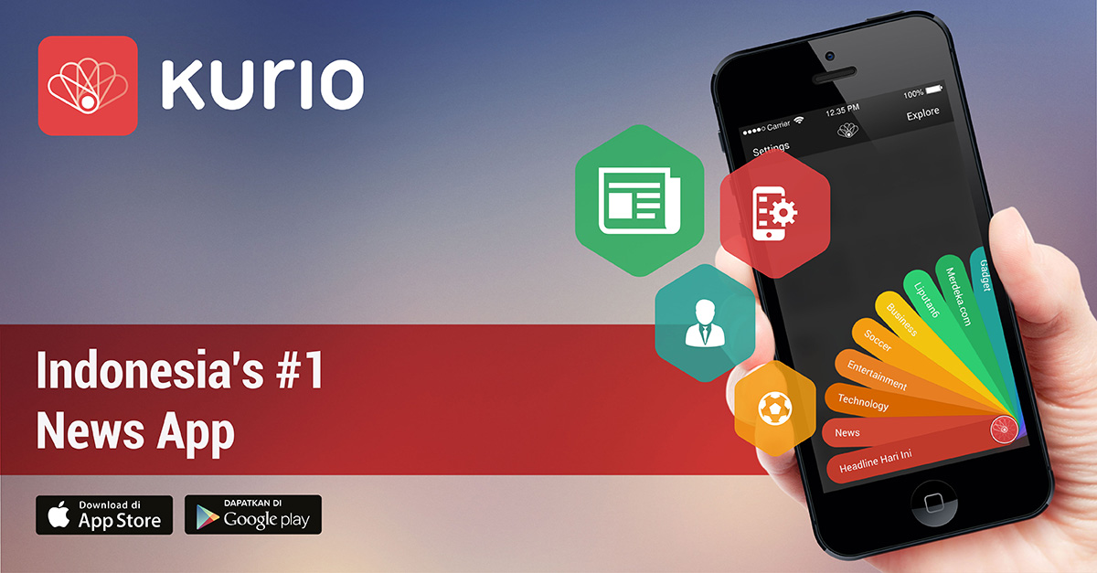 Kurio Aplikasi berita paling update
