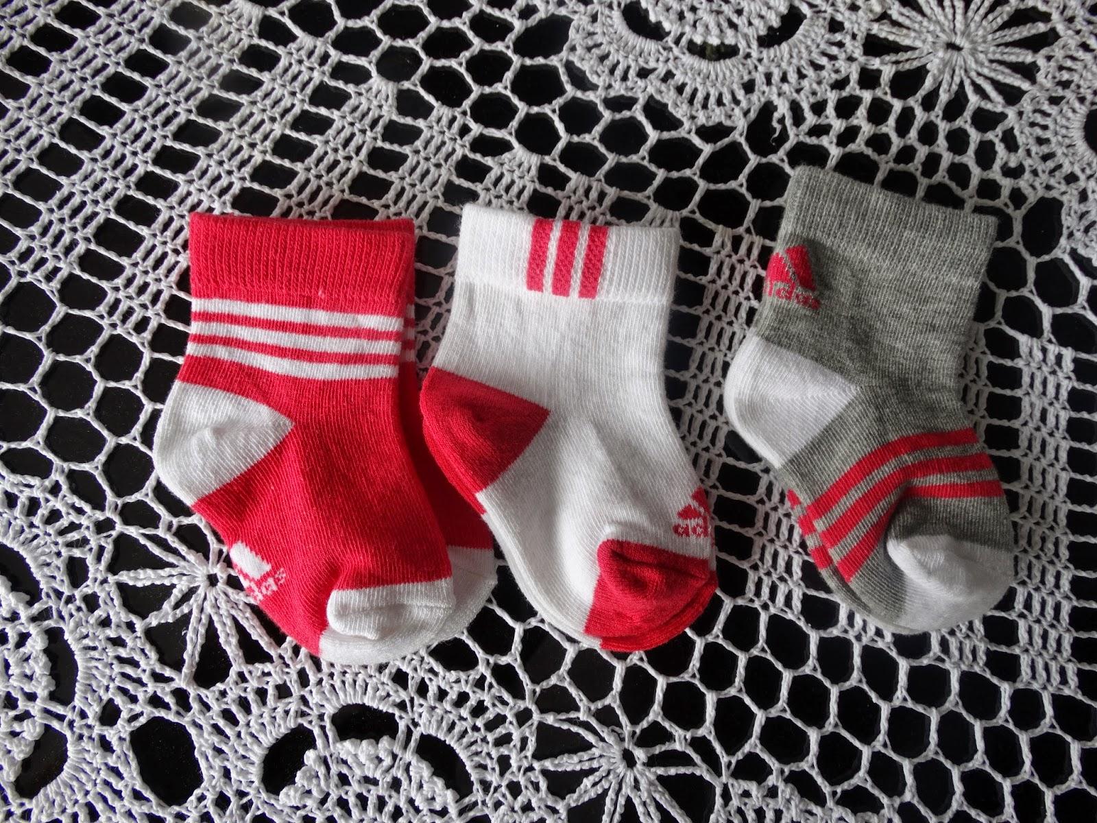 skarpetki adidas niemowlęce