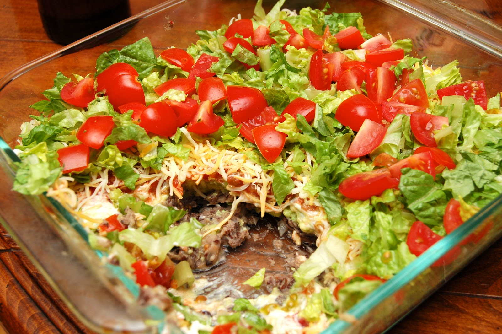 Kettler Cuisine: 7-Layer Bean Dip