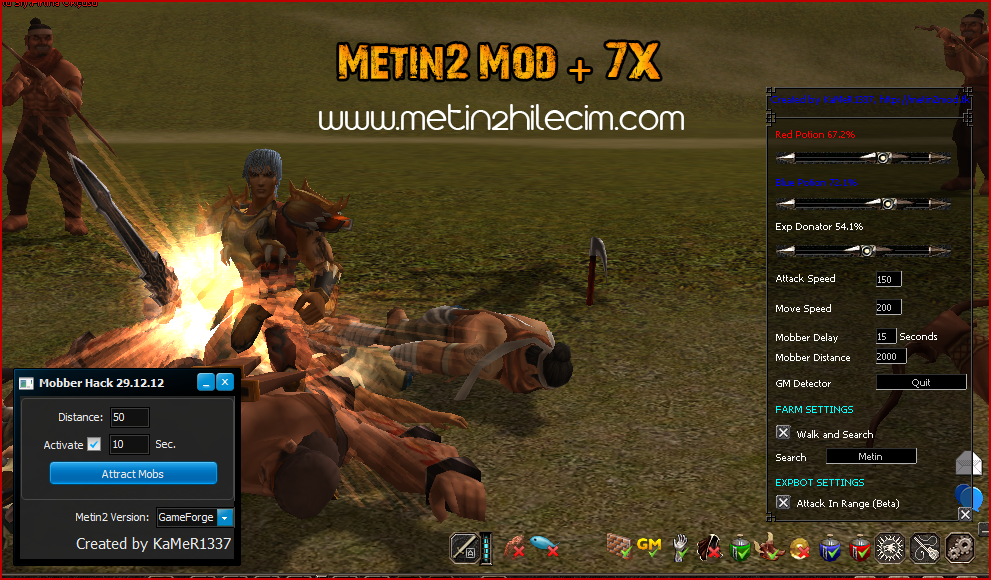 Metin2 Mod Hilesi + 7x 2014
