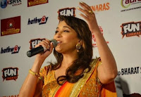 Madhuri Dixit - Nene at ‎BHOPAL‬ today to promoting ‪‎GulaabGang