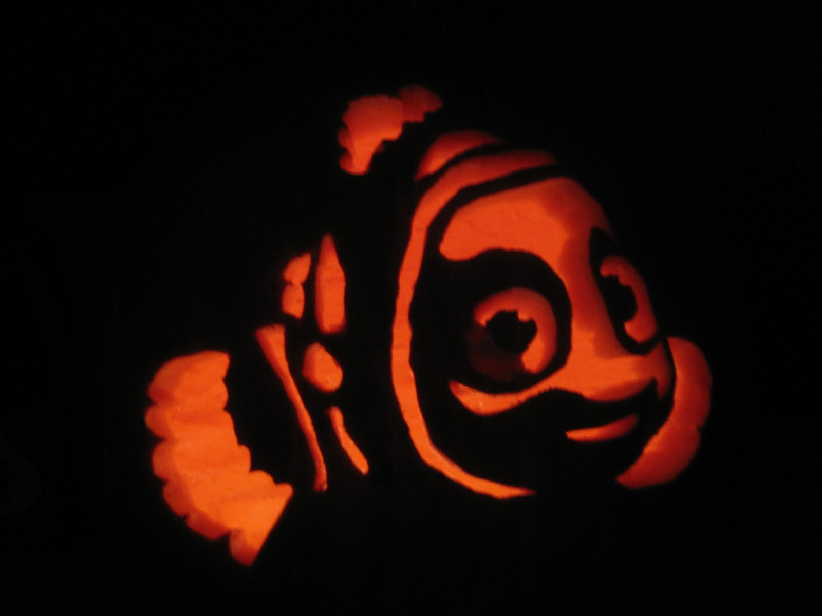 Finding Nemo Pumpkin Carving Ideas