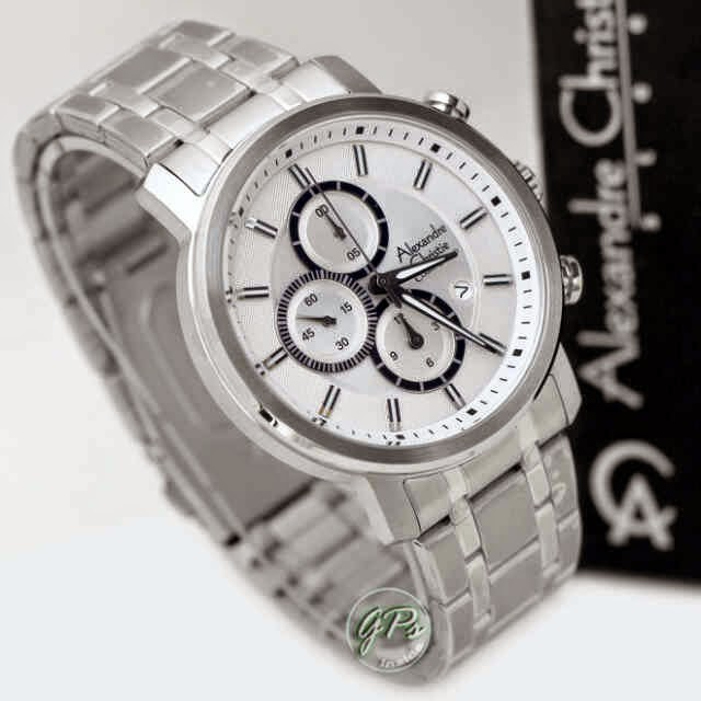 Alexandre Christie 6332 SS silver putih