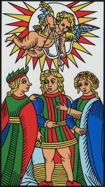 L'amoureux Marseilles Tarot card Jodorowsky