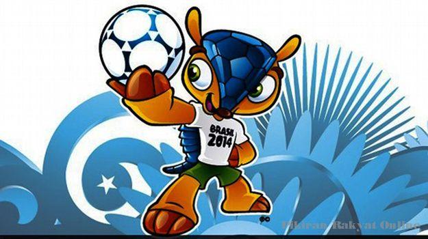 "Trenggiling ""Fuleco"" Jadi Maskot Piala Dunia 2014 Brazil"