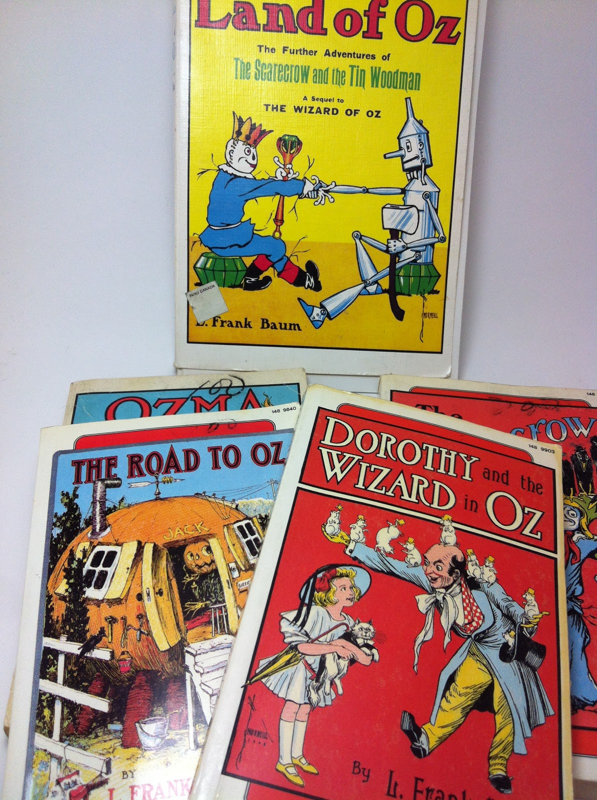 classic Wizard of Oz books