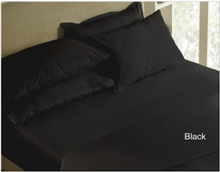 Sprei Polos Hitam