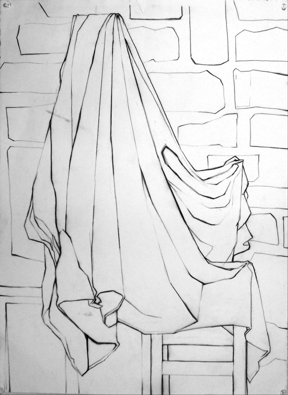 Basic Drawing 1 Drapery Homework