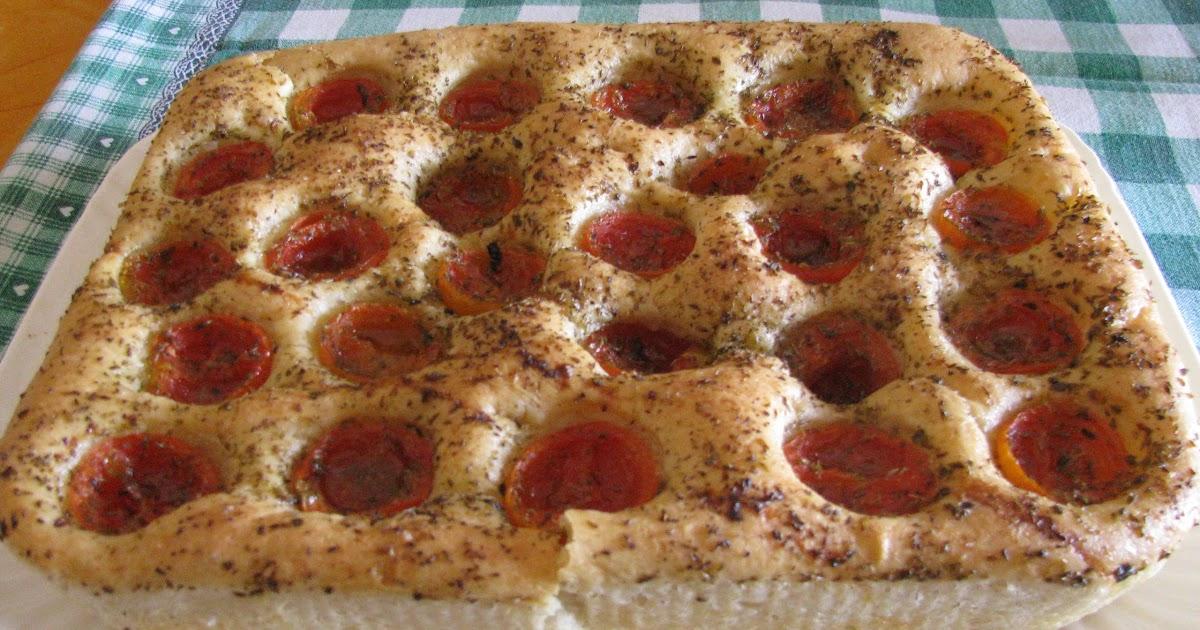 Cucina ... che passione!: Focaccia con pomodorini