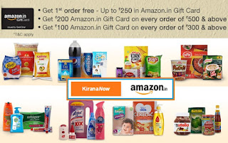 Free upto Rs.250 in Amazon Gift Card