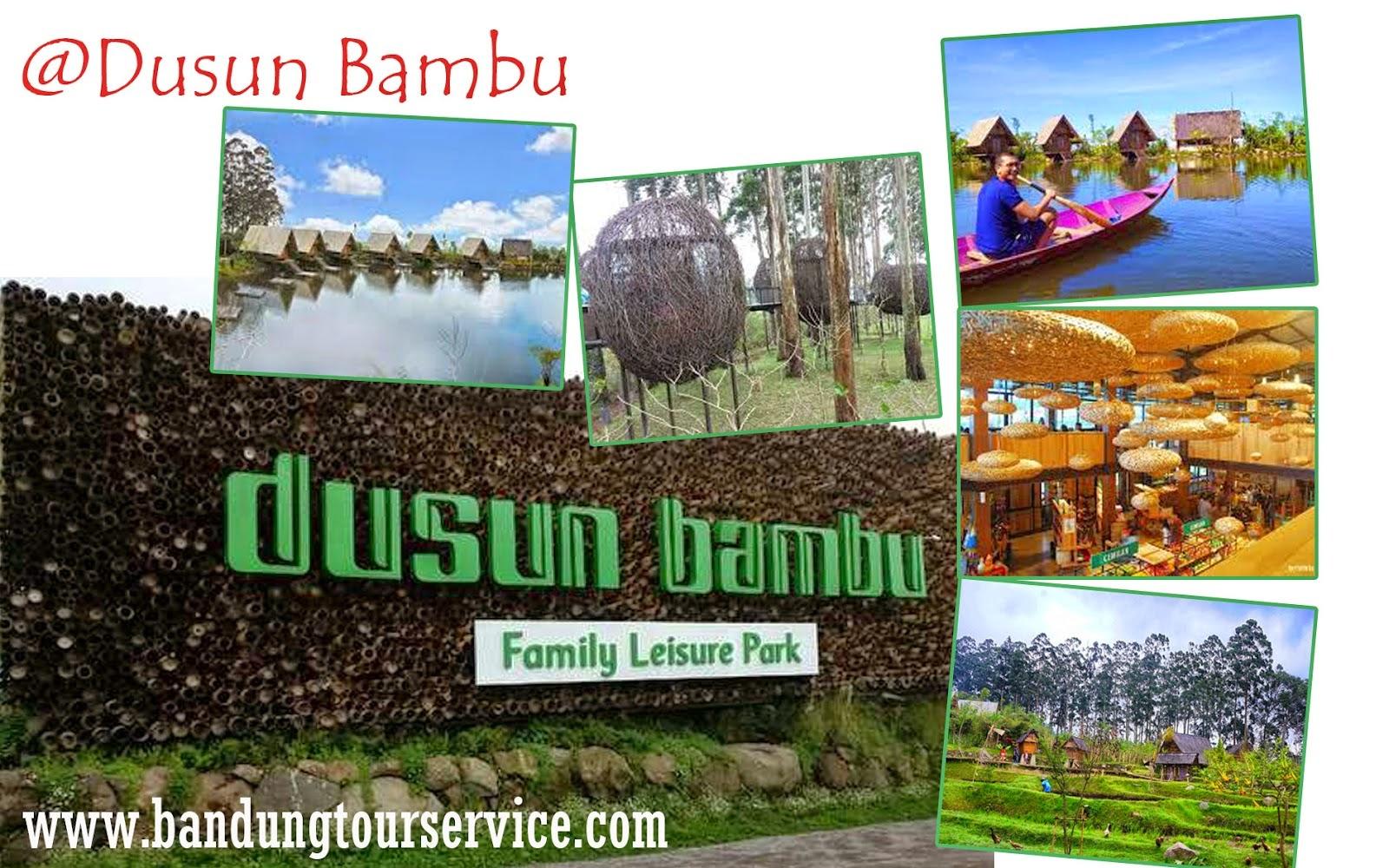 Wisata Dusun Bambu di Bandung Jawa Barat - Dusun Bambu